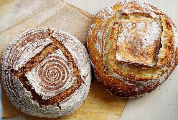 Безопарное ведение теста на закваске + хлеб без замеса