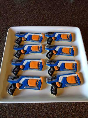 Janis Bakes: Nerf Gun Cookies