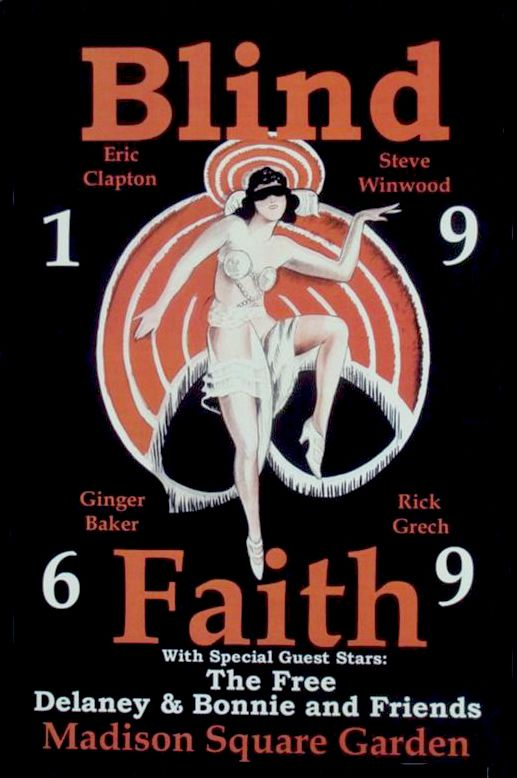 Blind Faith 1969 Madison Square Garden