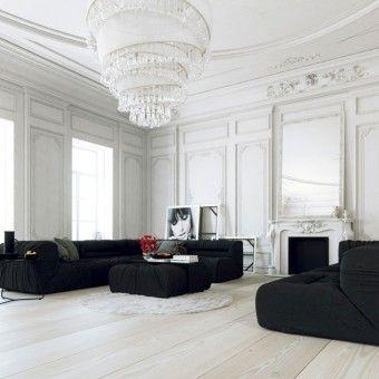 FinFloor Black Forest Laminate Flooring - Colour Snowfall White