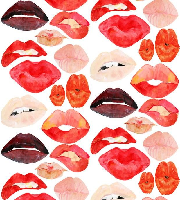 The Best and Brightest Wallpapers Straight From Our Editors: Lipstick