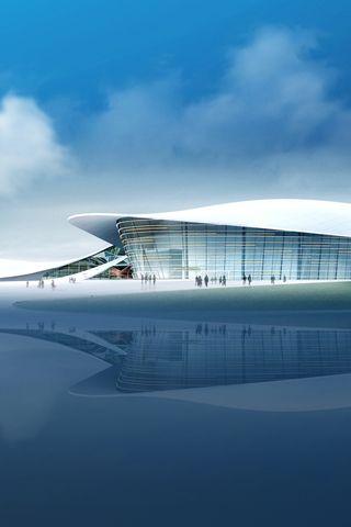 2010 Guangzhou Asian Games stadiums, futuristic architecture, future building, future architecture, futuristic building