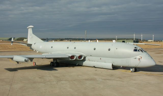UK has been without a dedicated maritime patrol aircraft capability since the Royal Air Force retired its last Nimrod MR2s (pictured) in 2010. Their planned replacement – BAE Systems' Nimrod MRA4 – was cancelled in an SDSR later the same year.
