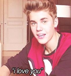 OMG I LOVE YOU TO JUSTIN DREW BIEBER <3 <3 <3 <3
