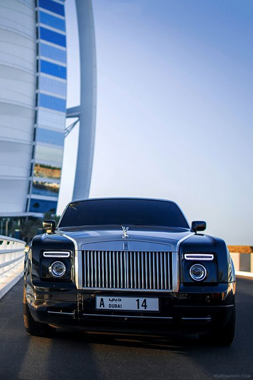 Rolls Royce Phantom Coupe during a recent visit in Dubai.