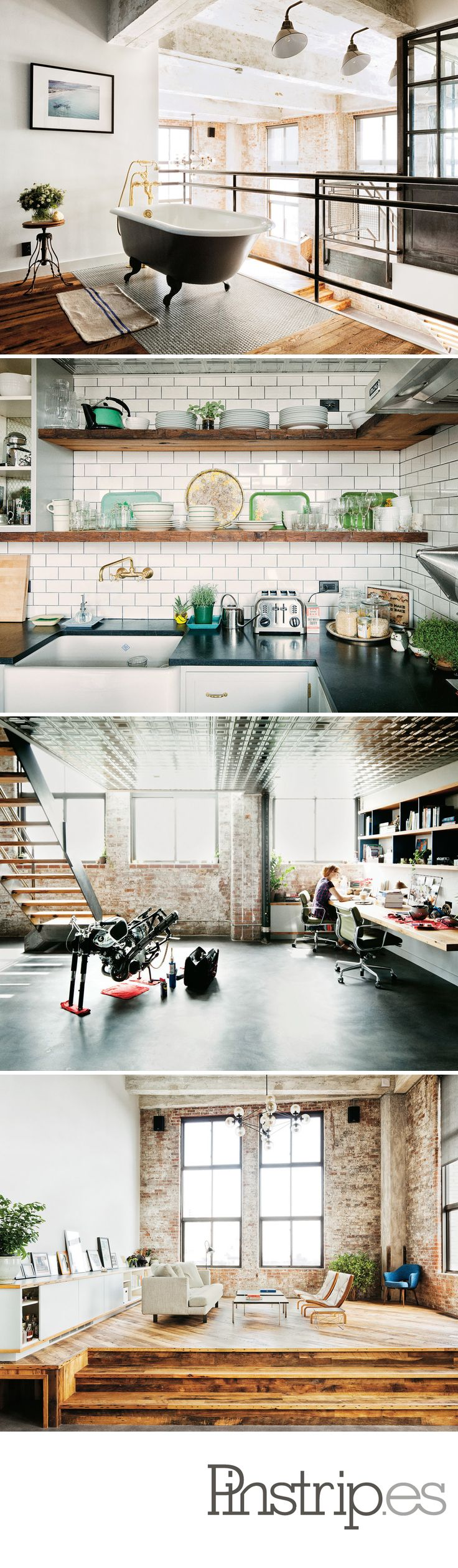 Decorating with Yahoo! money - Tumblr's David Karp's New Williamsburg Loft