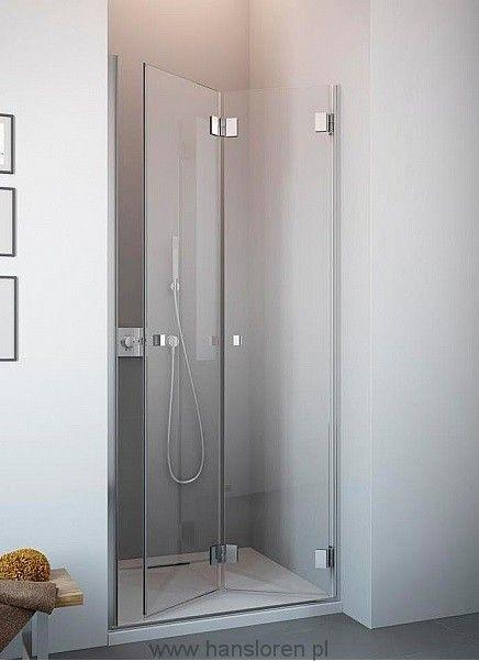 Carena DWB Radaway drzwi wnękowe 693-705x1950 chrom szkło przejrzyste prawe - 34582-01-01NR  http://www.hansloren.pl/Drzwi-szklane-do-wneki-Radaway/Carena