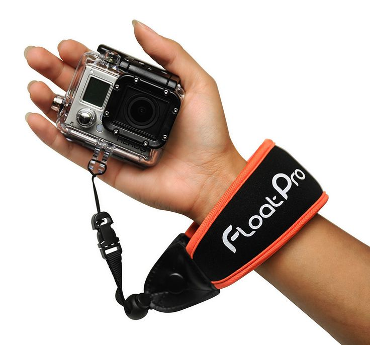 Floating wrist strap for GoPro & waterproof camera. Must-have GoPro accessories. #1 best selling strap http://www.floatpro.co