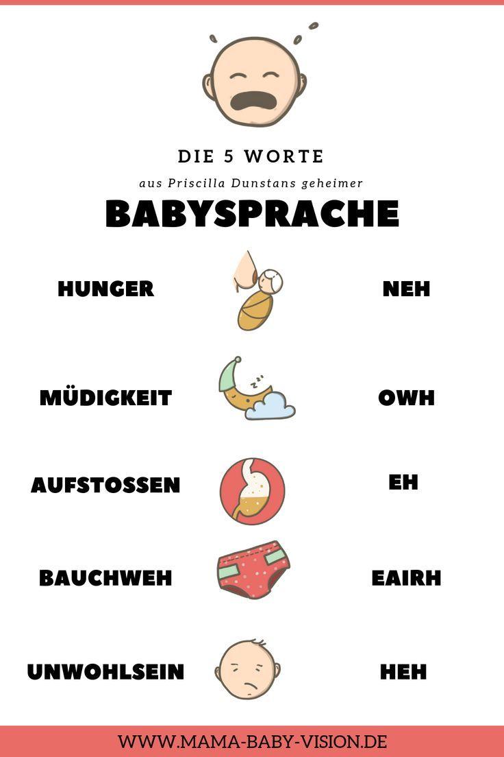 Votre bébé pleure? 5 mots que vous devez savoir avant la naissance de votre bébé   – Tabea's Originals – aus Blog, YouTube, Instagram, Facebook