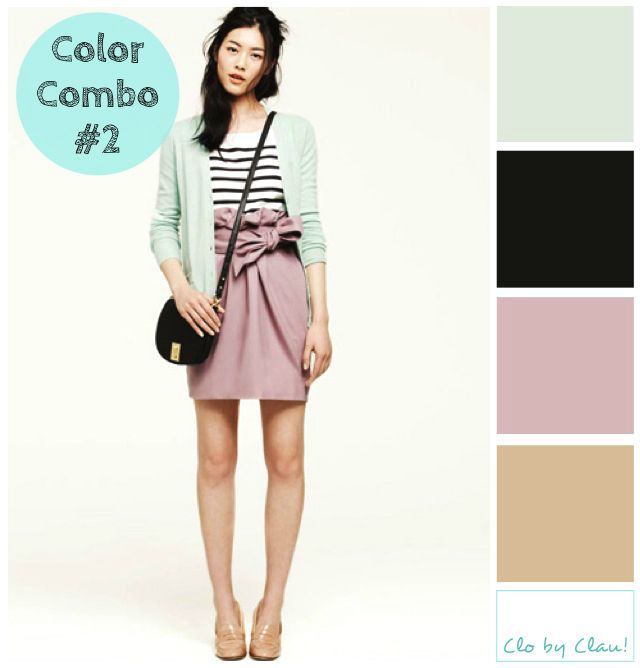 Outfit color combination