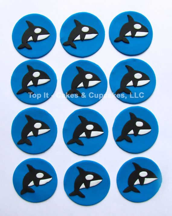 Cake Toppers Orca