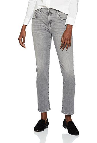 578d869f9276d Seven for all Mankind International SAGL Relaxed Skinny Jean Boyfriend  Femme Gris (Dawn 0wo) W29/L27 (Taille Fabricant: 29)