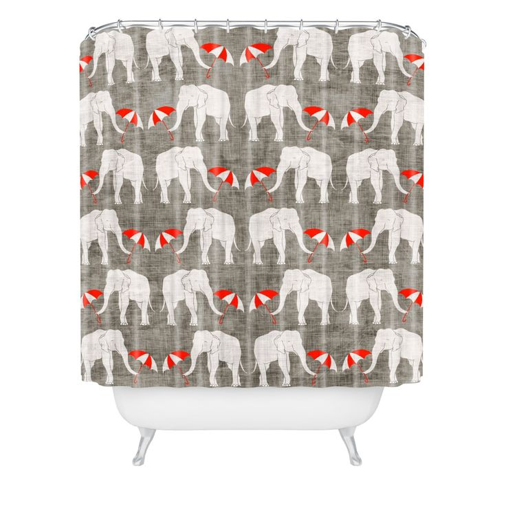 This Innovative Shower Curtain Gives A Sensible Essential A Fabulous Artistic Spin With A Holli Zollinger Design Buttonh Shower Curtain Curtains Deny Designs