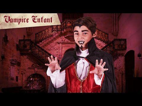 Maquillage Halloween vampire pour garçon - Deguisetoi
