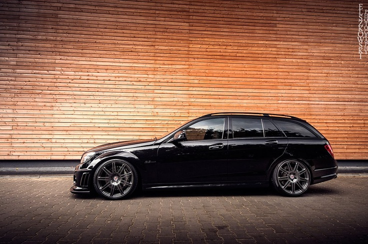 C63 Estate makes a mean grocery getter