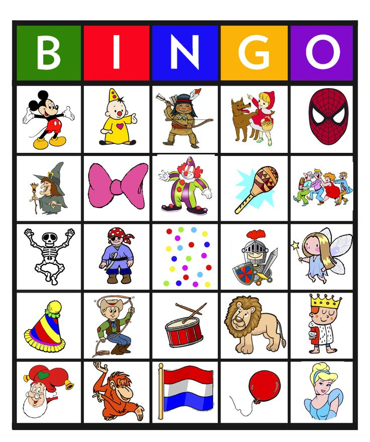 Feest: Bingo carnaval 13