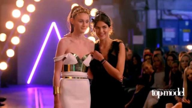 Australia's Next Top Model winner Aleyna FitzGerald doesn't regret quitting school.