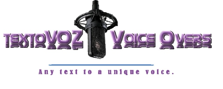 In textoVOZ Voice Overs we offer Latin American Spanish, Neutral Spanish  North American English and Brazilian Portuguese Voice-Overs for personal, commercial or educative use at an Affordable price! We also provide English to Spanish voice-over translations for short texts.