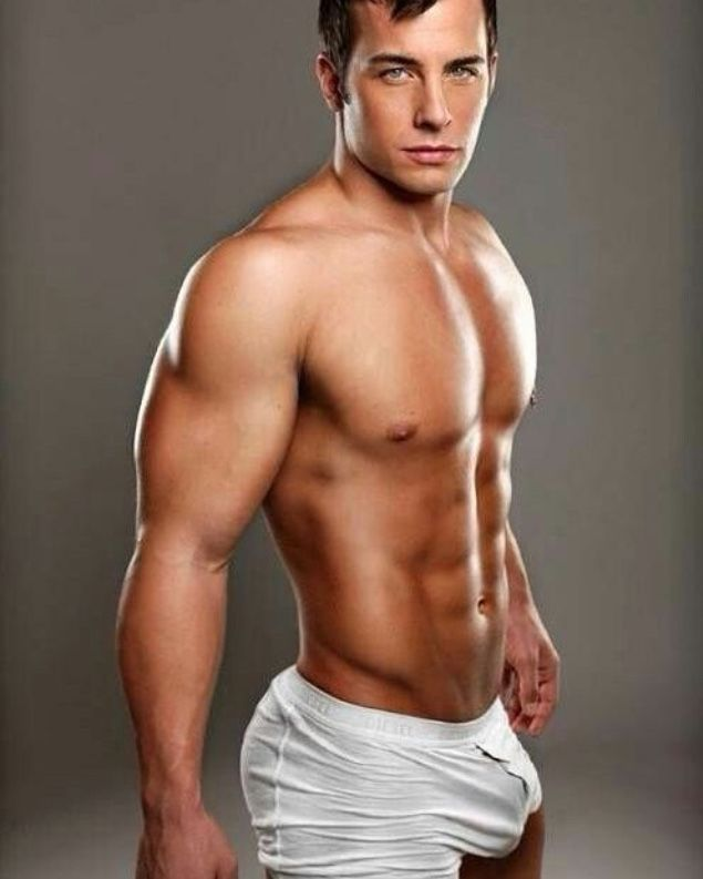 Male Model, Good Looking, Beautiful Man, Guy, Cute Boy, Hot, Sexy, Handsome, Eye Candy, Muscle, Hunk, Abs, Sixpack, Shirtless, Underwear, Bulge 男性モデル アンダーウェア 下着