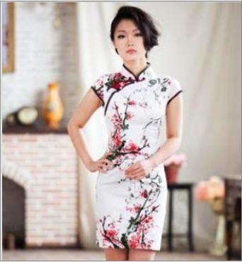 vestido tradicional chino mujer de 9€