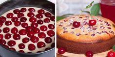 Если у тебя остался стакан кефира, приготовь этот замечательный пирог с вишней! Отличная идея! Получается ну очень вкусно!