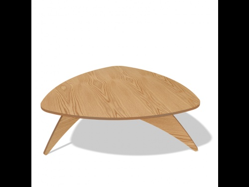 Trio Coffee Table by Cutting Edge for L'EDITO. Choose your size and color online!  http://www.ledito.com/table-basse-sur-mesure-trio.html