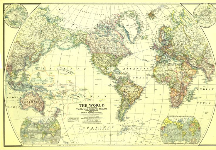 72 best national geographic maps images on pinterest national this classic world map published in december of 1922 shows the worlds political boundaries gumiabroncs Image collections