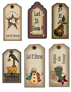 free primitive labels to print | The Krazy Kraft Lady: 6 FREE Hangtags