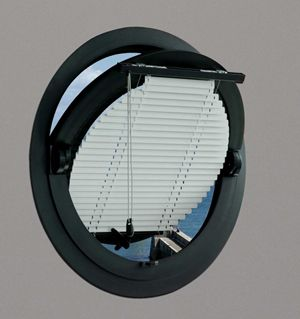 round window blinds - Google Search