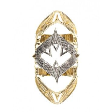 Moroccan Goum Ring from House of Harlow $139