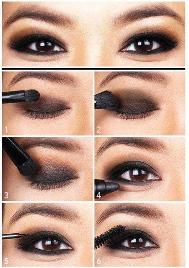 Basic Rules For Smoky Eyes
