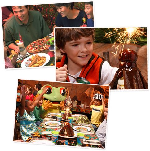 Rainforest Cafe - A Wild Place to Shop and Eat!  There is one in Seattle. I haven't been in ages!