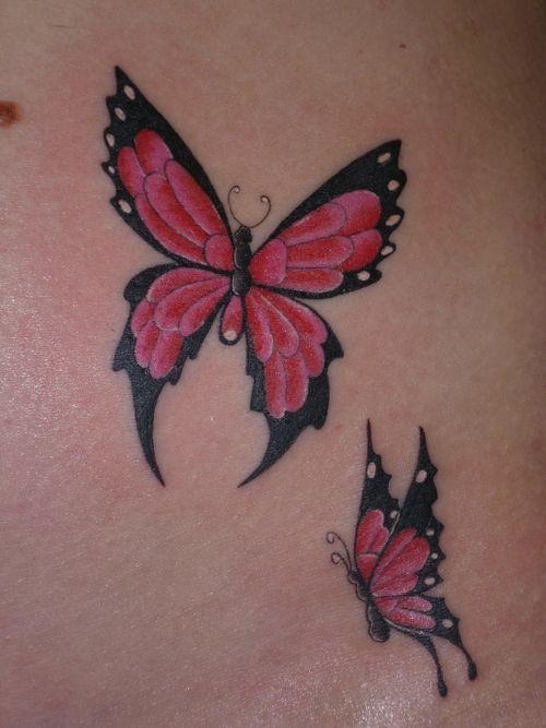Butterflies tattoos. #tattoo #tattoos #ink