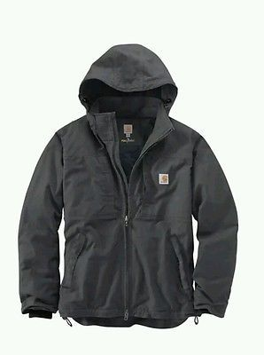 Carhartt Men's FULL SWING Cryder Jacket 102207 Shadow Gray Size Medium M New NWT