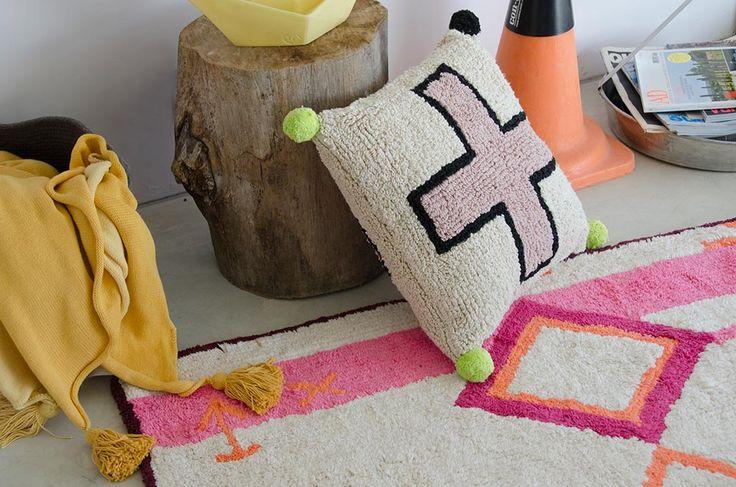 NEW Cushion Cross #washablecushions #lorenacanals #cushions #accesories
