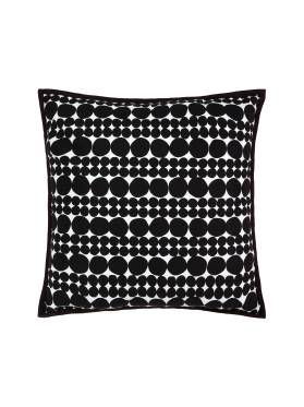 Linen House Spectrum Cushion in Navy Blue, available at Forty Winks.