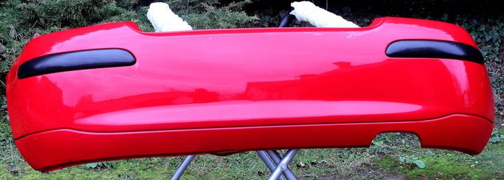 GENUINE ROVER 25 REAR BUMPER RED