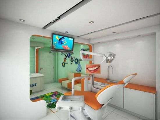 dental clinic interior design 4 Interiors Clinic, Interiors Dental ...