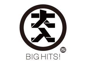BIG HITS! logo design