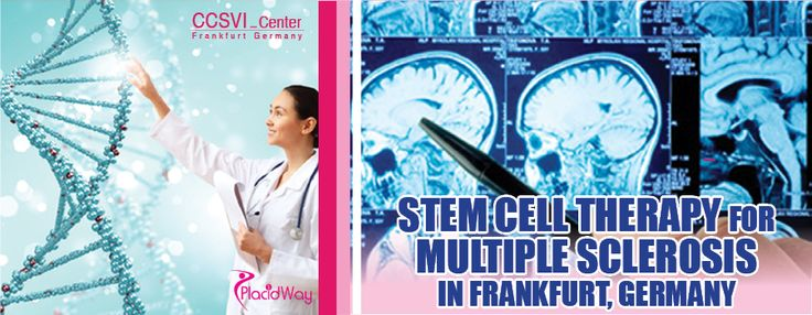 Stem Cell Therapy for Multiple Sclerosis in Frankfurt, Germany. #stemcell