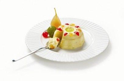 Bavarian Cream with Fruit Mostarda Lazzaris
