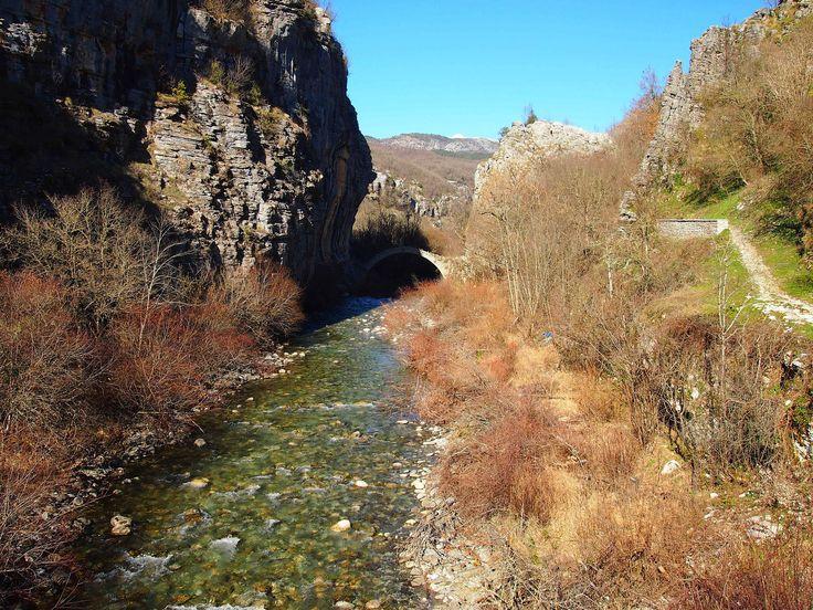 https://flic.kr/p/p1LMXm | Kododimos bridge | Kododimos bridge over Voidomatis River near to Kipi Village at Zagori, Epirus.