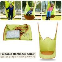 This swing chair is made with high quality cotton-canvas, very soft and comfortable. It has two hang