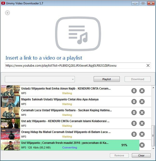 Cara download playlist video youtube dan mengconvert ke mp3 proses download isparmo.web.id