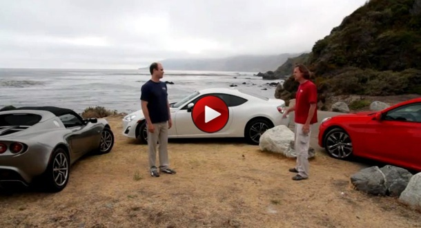 26 minute comparison video between Lotus Elise, Scion FR-S and Hyundai Genesis Coupe. Scion comes out on top.