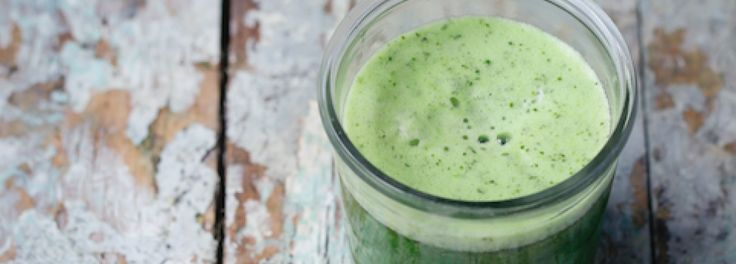 //Juice// Cucumber, pear, kale, wheatgrass & mint juice.