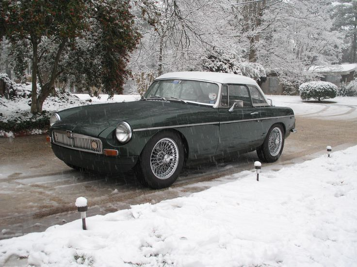 MGB with optional hardtop