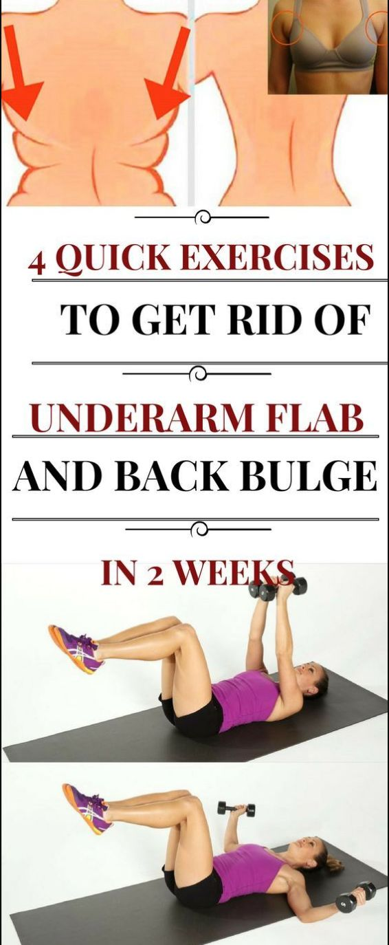 4 BEST MOVES TO GET RID OF UNDERARM FLAB AND BACK BULGE IN LESS THAN 2 WEEKS – Chasing Rainbows