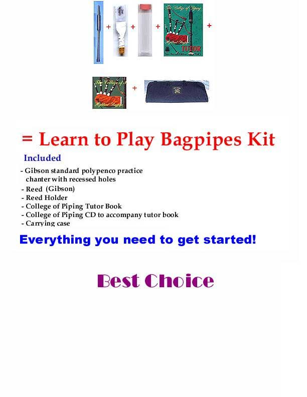 Learning to Play the Highland Bagpipe ~ The Practice ...