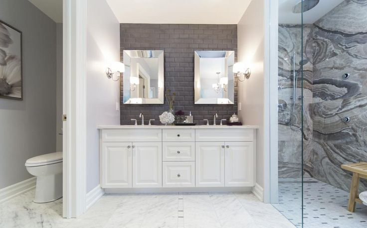 Love this bathroom by Property Brothers